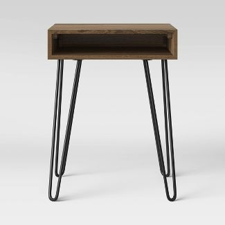 Hair Pin Accent Table Espresso Brown - Room Essentials™
