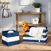 "13"" Fabric Stripe Storage Bin - Pillowfort™ - image 2 of 4"