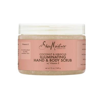 SheaMoisture Coconut & Hibiscus Illuminating Hand and Body Scrub - 12oz