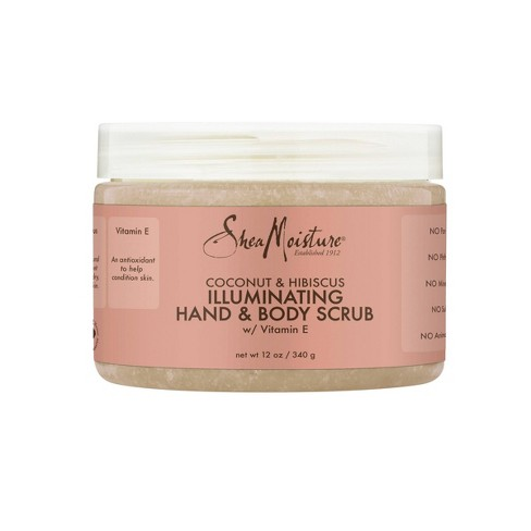 Sheamoisture Coconut Hibiscus Illuminating Hand And Body Scrub