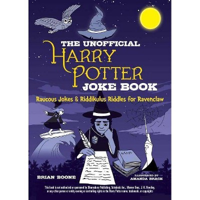 The Unofficial Harry Potter Joke Book: Raucous Jokes and Riddikulus Riddles for Ravenclaw - by  Brian Boone (Paperback)