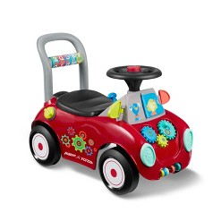 Radio Flyer Busy Buggy, pedal and push riding toys
