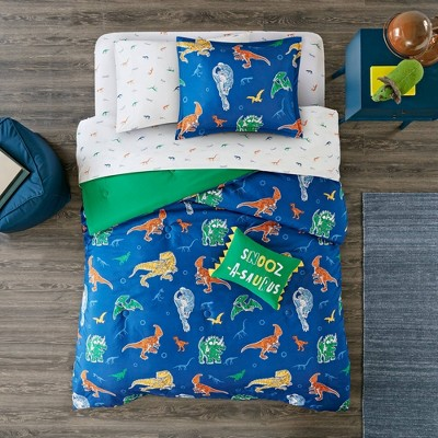 Ethan Complete Bed and Sheet Set Blue