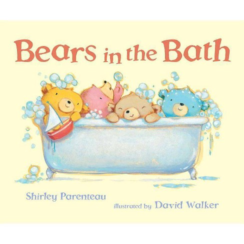 Bears in the Bath - (Bears on Chairs) by  Shirley Parenteau (Hardcover) - image 1 of 1