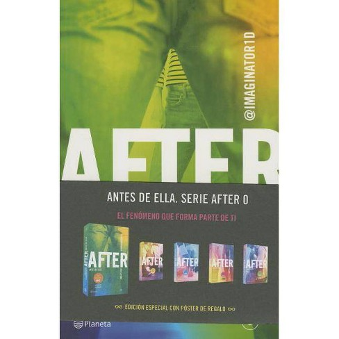 After. Antes de Ella - by  Anna Todd (Paperback) - image 1 of 1