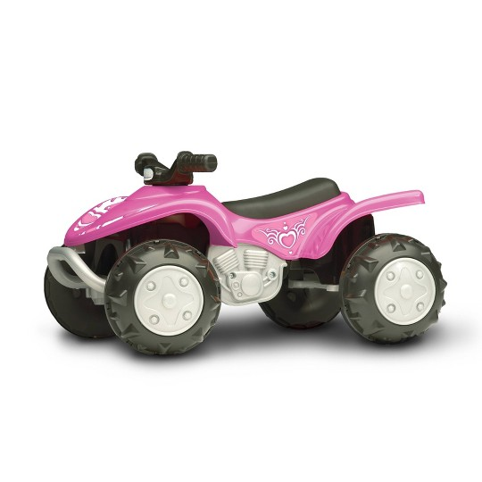 American Plastic Toys Girls Trail Runner ATV - Pink image number null