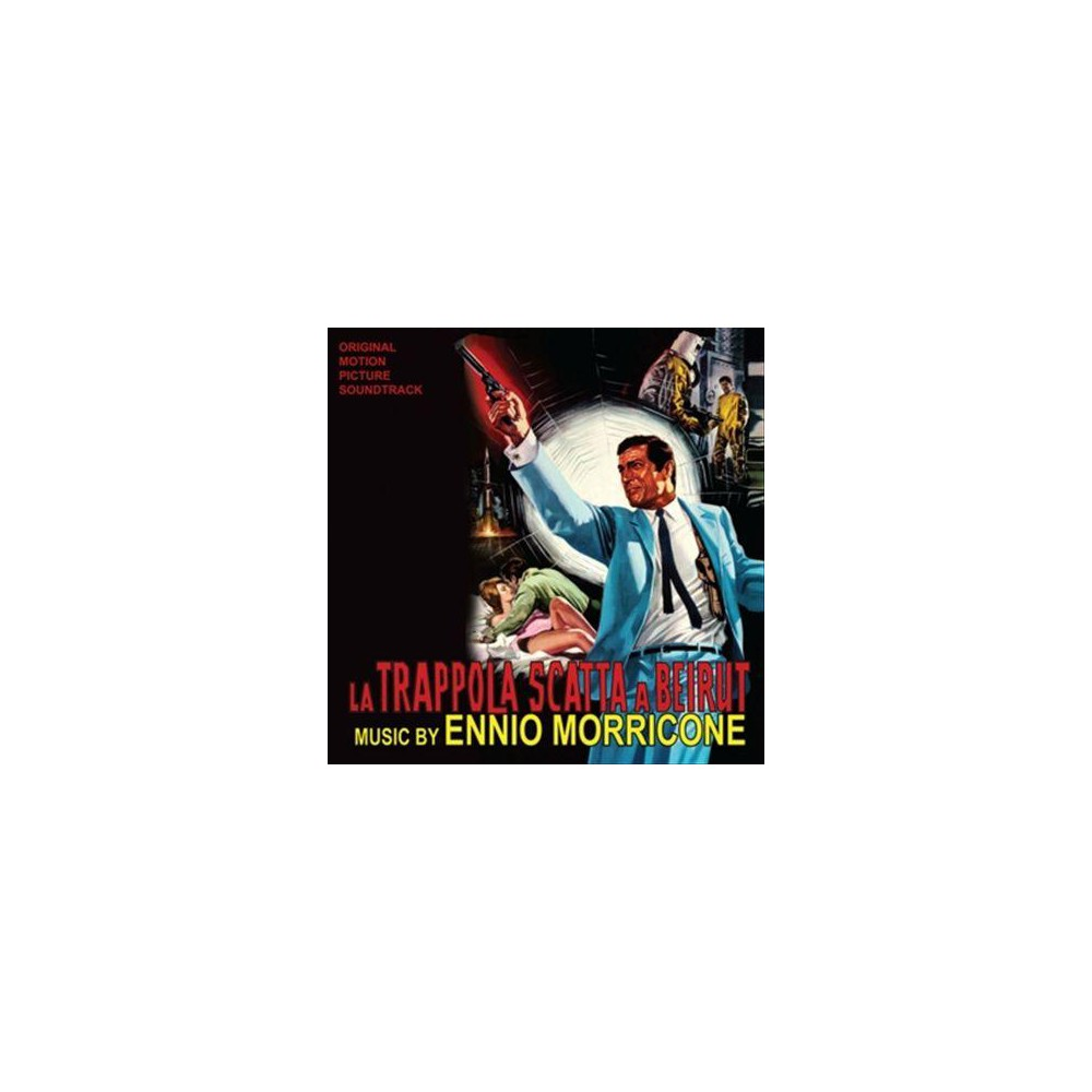 Ennio Morricone - La Trappola Scatta A Beirut (Ost) (Vinyl)