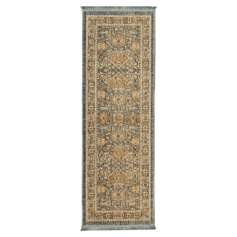 Woven Area Rug Floral Threshold Target