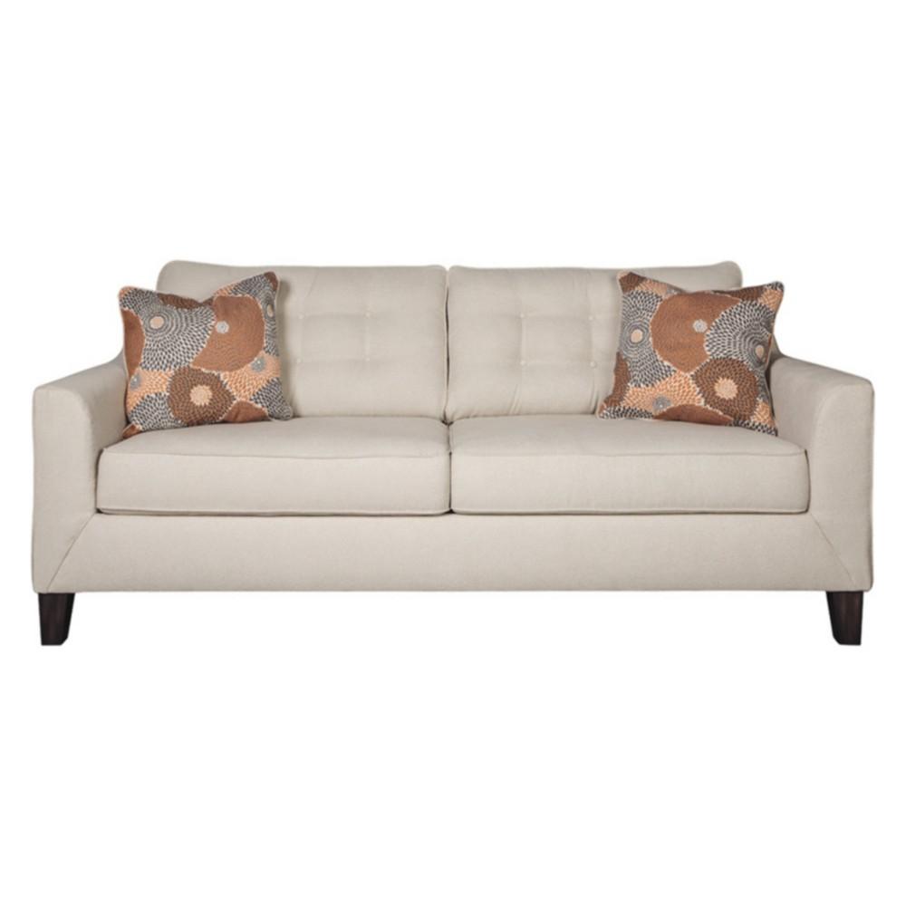 Benissa Queen Sofa Sleeper Alabaster White - Signature Design by Ashley