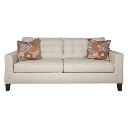 Benissa Queen Sofa Sleeper Alabaster White Signature Design By