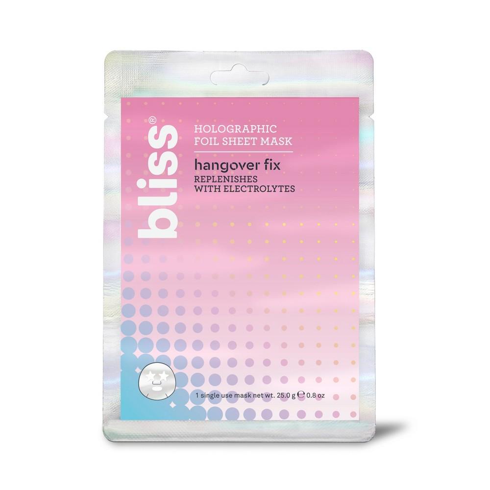Bliss Hangover Fix Holographic Foil Sheet Mask - .8oz