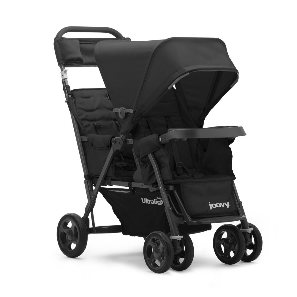 Image of Joovy Caboose Too Ultralight Graphite Stand-On Tandem Stroller