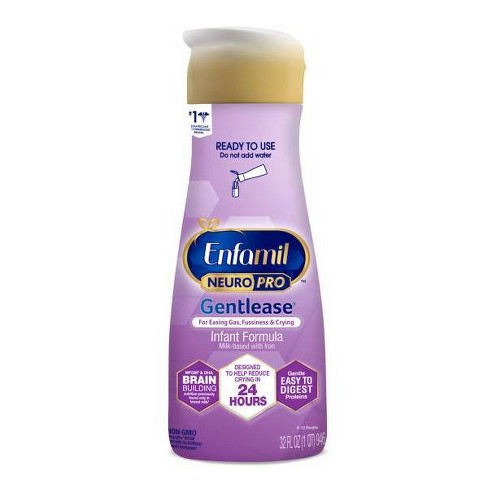 Enfamil Premium Gentlease Ready-to-Feed Infant Formula - 32 fl oz - image 1 of 4