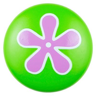 Sumner Street Home Hardware 4pc Flower Painted Knob Green