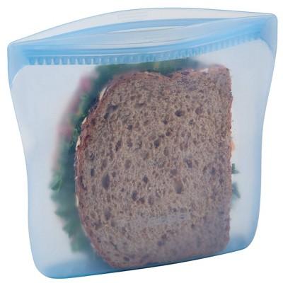 Progressive Reusable Silicone Sandwich Bag - Midday Blue