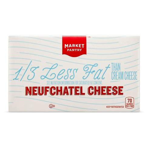 Plain Neufchatel Cheese - 8oz - Market Pantry™ - image 1 of 3