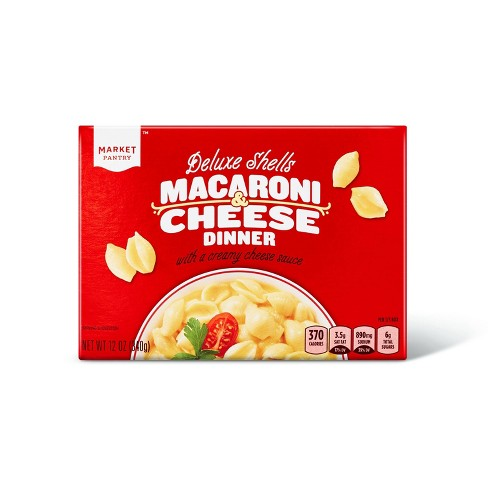 Deluxe Shells Macaroni & Cheese Dinner 12oz - Market Pantry™ - image 1 of 2