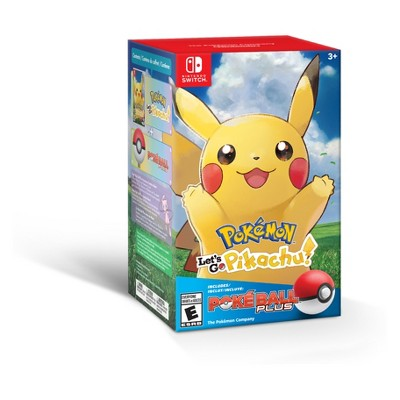 Pokemon: Let's Go Pikachu! Poke Ball Plus Bundle - Nintendo Switch