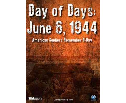Day Of Days:June 6 1944 American Sold (DVD) - image 1 of 1
