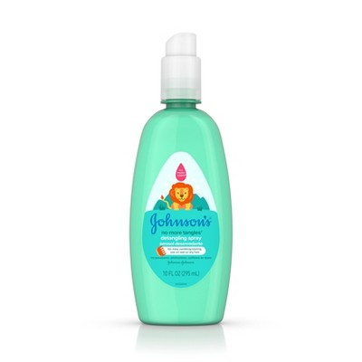Johnson's No More Tangles Detangling Spray - 10 fl oz