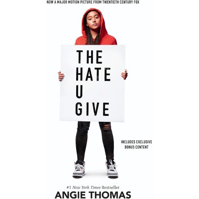 Hate U Give - by Angie Thomas (Hardcover)