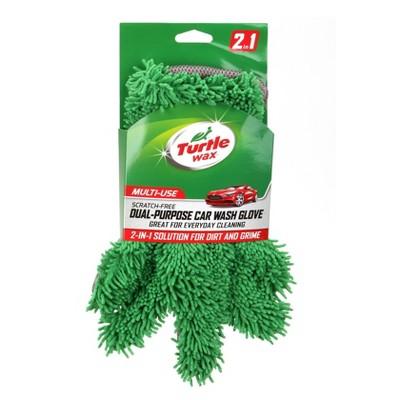 "6""x12"" Dual Purpose Cleaning Glove Green - Turtle Wax"