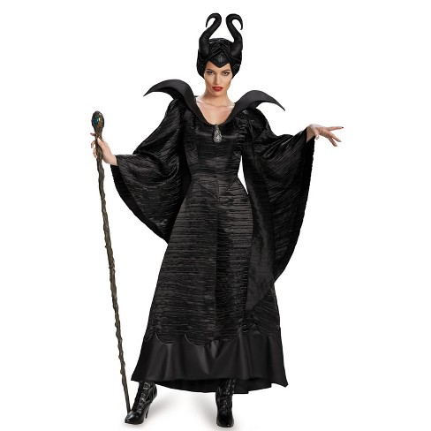 Women's Maleficent Black Gown Halloween Costume - image 1 of 1