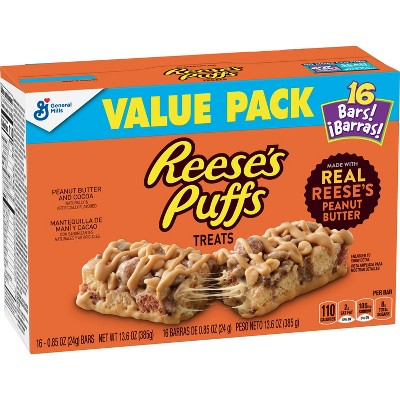 Reese's Puffs Snack Bars -  13.6oz/16ct
