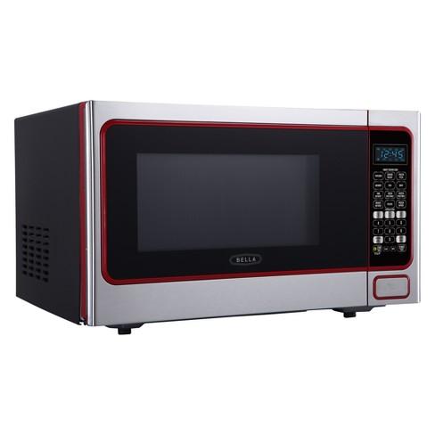 Bella 1 Cu Ft 1100 Watt Microwave Stainless Steel Bmo11abtbke Target