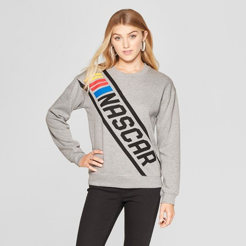 bf1ce7bc922d5 Women s NASCAR Graphic Sweatshirt (Juniors ) Heather Gray. Shop all FREEZE