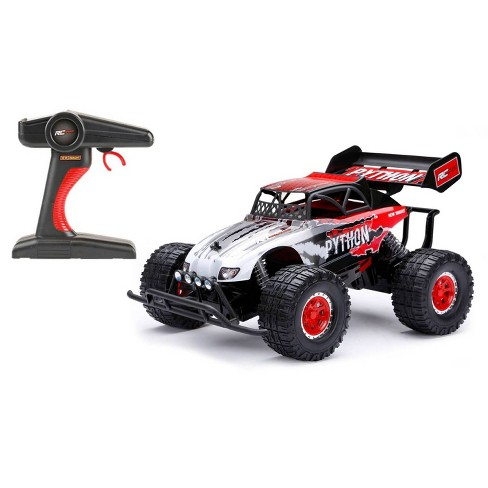 New Bright Remote Control RC PRO Plus Python - FF 9.6v - 1:10 Scale - Red - image 1 of 4