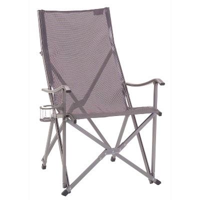 Coleman Sling Aluminium Quad Chair - Silver