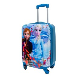 "Disney Frozen 20"" Kids' Carry On ABS Suitcase"