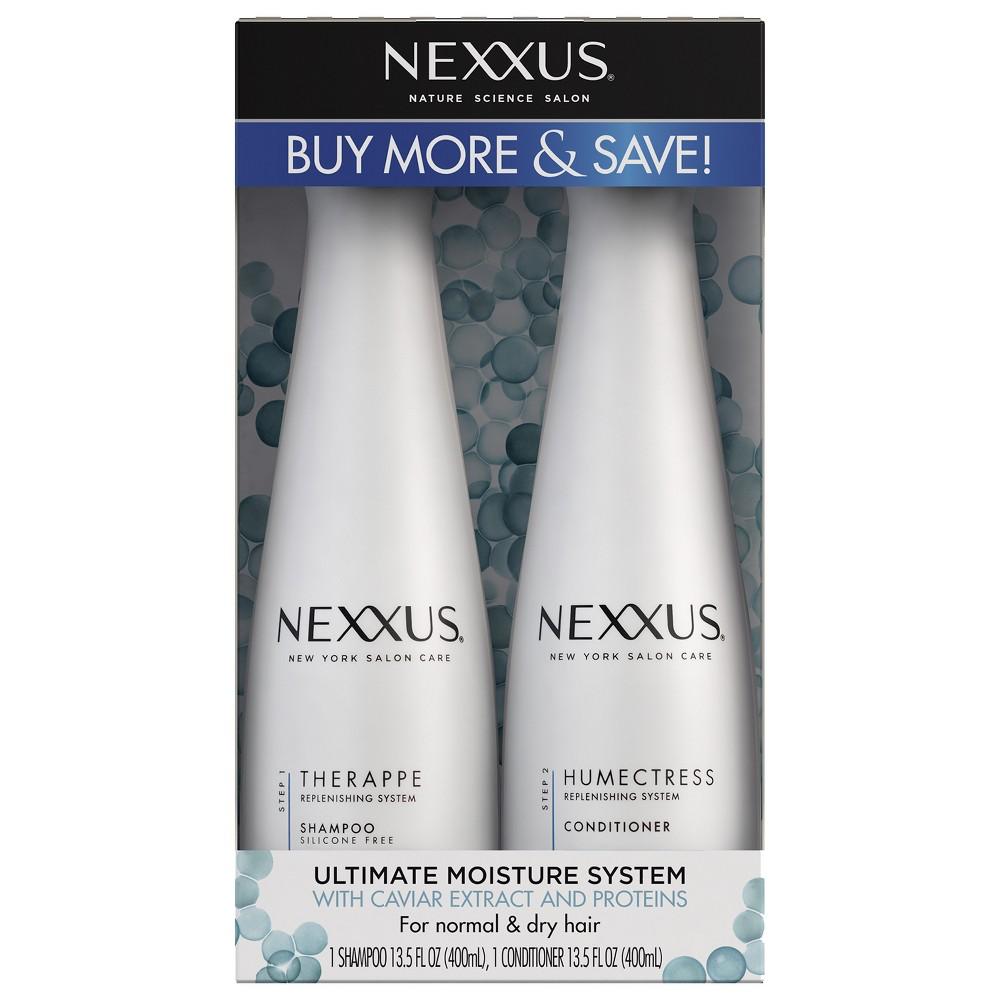 Image of Nexxus Nature Science Salon Ultimate Moisture System Shampoo & Conditioner – 2pk/27 fl oz