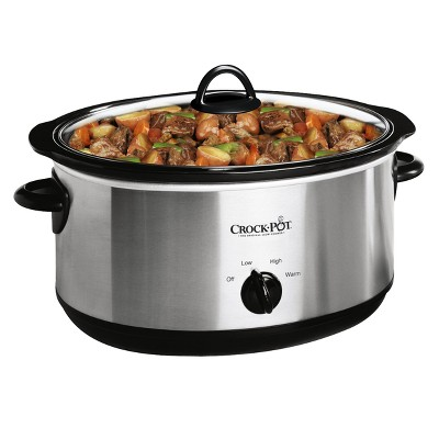 Crock-Pot 7qt Manual Slow Cooker - Silver SCV700-SS