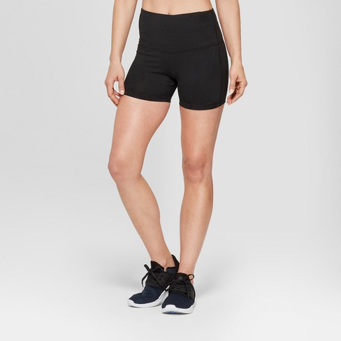 "Women's Everyday High Waisted Boy Shorts 4"" - C9 Champion® - image 1 of 2"