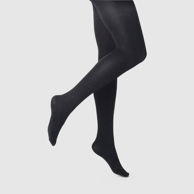 Women's 120D Blackout Tights - A New Day™ Black
