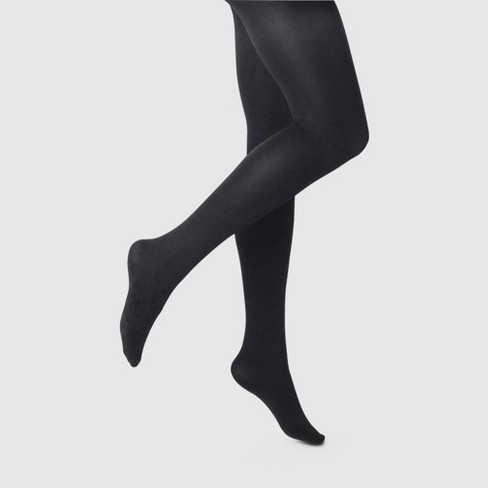 Women's 120D Blackout Tights - A New Day™ Black - image 1 of 2