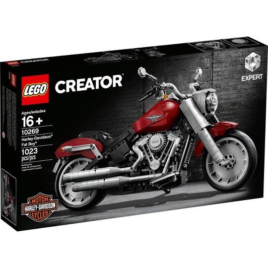 LEGO Creator Expert Harley-Davidson Fat Boy Building Kit 10269 image number null