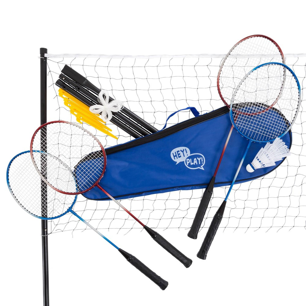 Image of Hey! Play! Complete Badminton Set