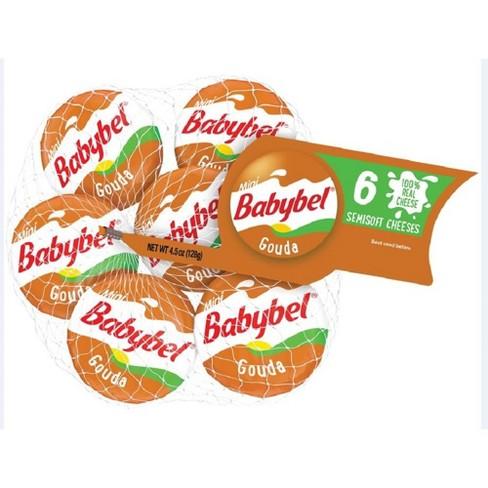 Mini Babybel Gouda Semisoft Cheeses - 6ct - image 1 of 4