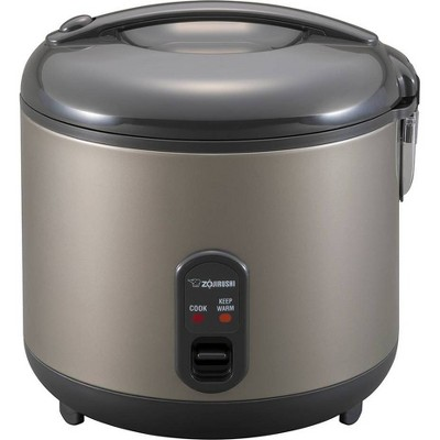 Zojirushi 10-Cup Automatic Rice Cooker & Warmer - Gray