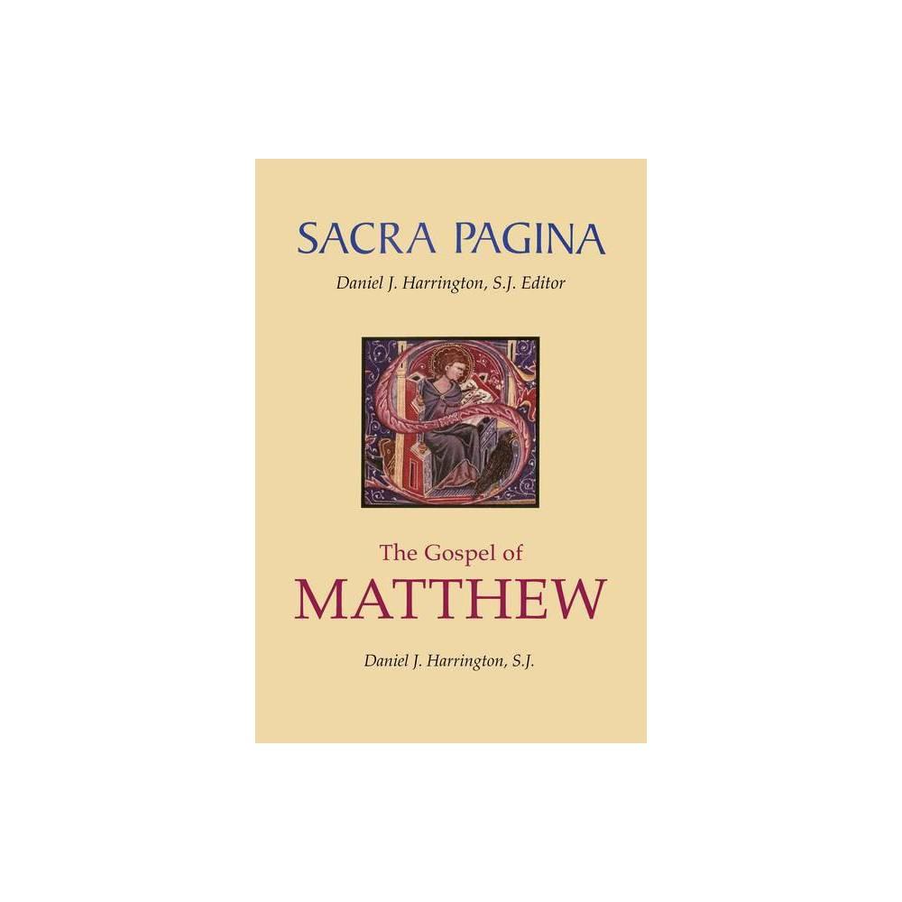 Gospel Of Matthew Sacra Pagina Quality Paper By Daniel J Harrington Paperback