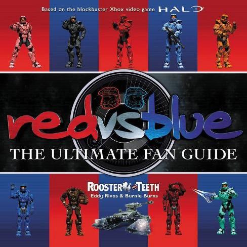 Red vs  Blue - by Rooster Teeth & Eddy Rivas & Burnie Burns (Paperback)