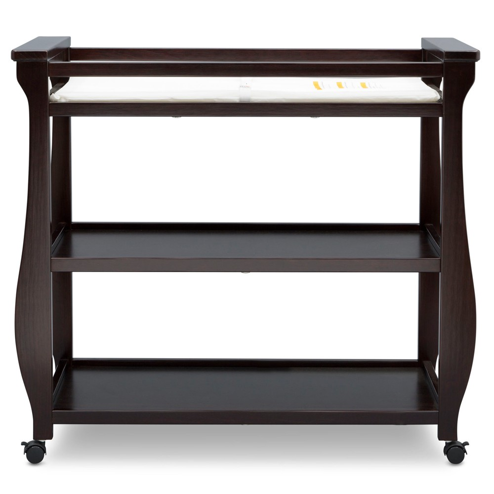 Delta Children Lancaster Change Table - Dark Chocolate