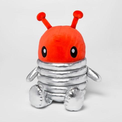 Alien Suit Figural Throw Pillow - Pillowfort™ - image 1 of 4