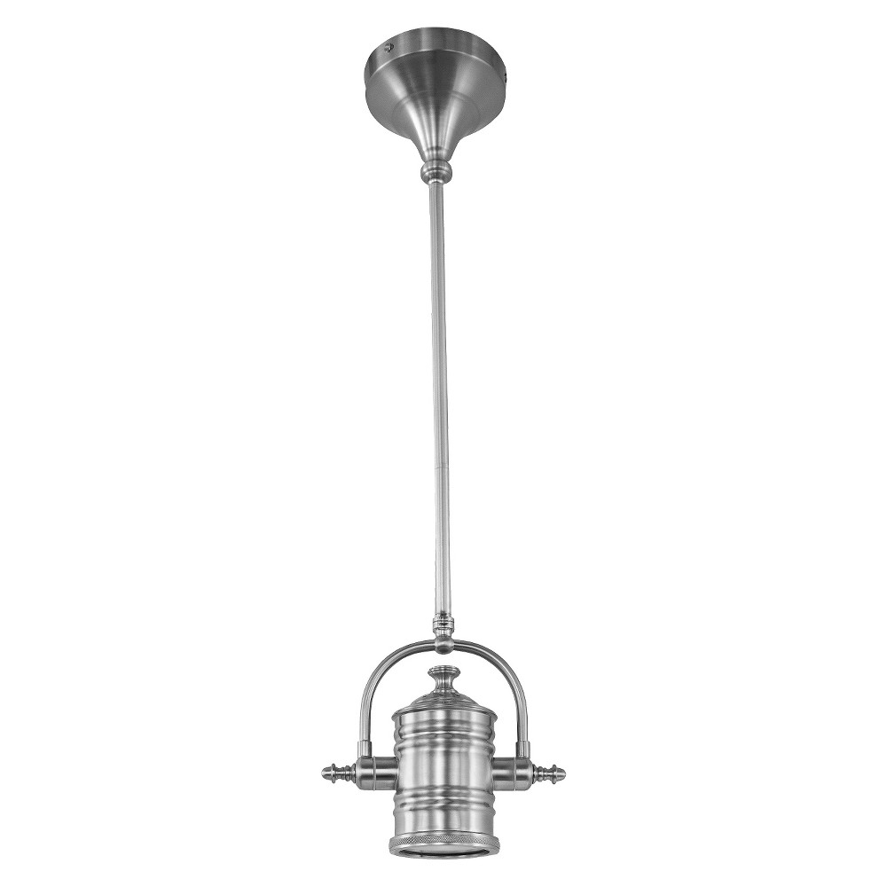 Image of Maxim Hi-Bay 1-Light Pendant Silver