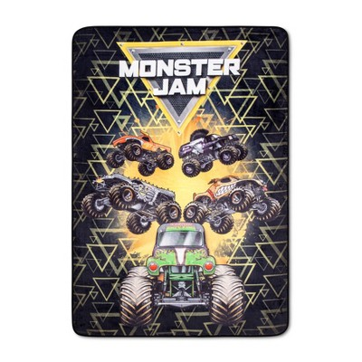 Monster Jam Twin Blanket