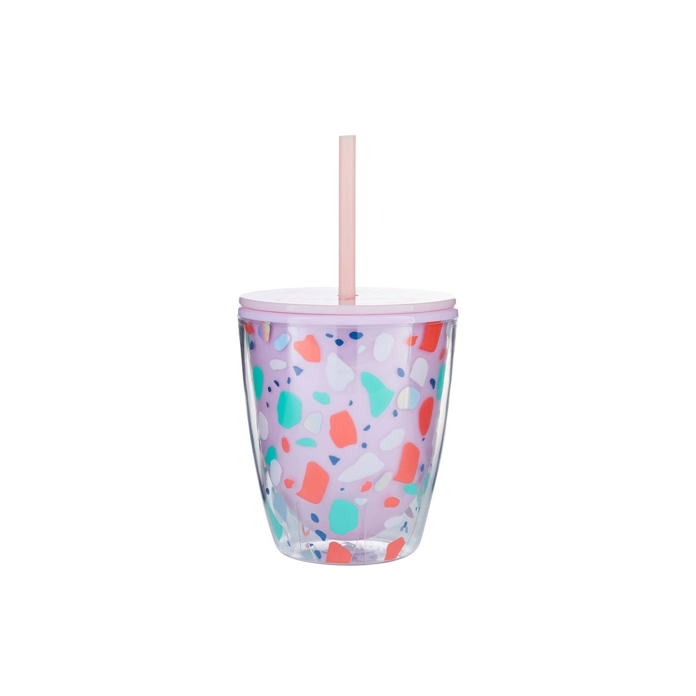 "Image of ""Parker Lane 10oz Double Wall Tumbler """"Sip Sip Hooray"""" Pink"""