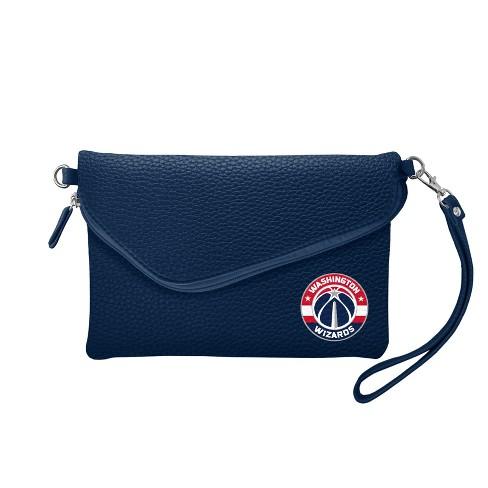 NBA Washington Wizards Fold Over Pebble Crossbody Bag - image 1 of 1